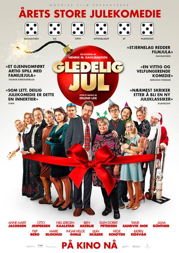 Gledelig jul movie poster image