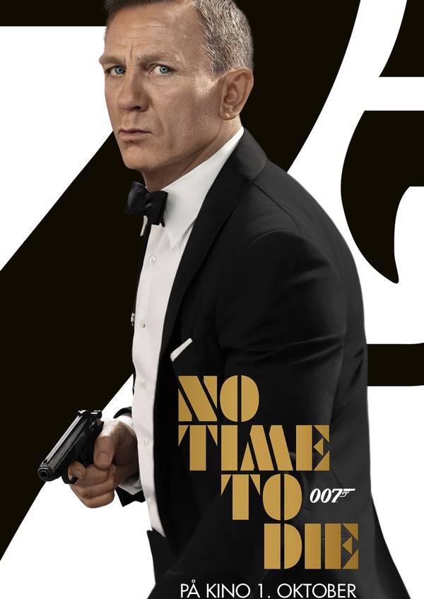 James Bond: No Time To Die movie poster image