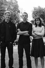 Reprise-gjengen; Erik (Espen Klouman Høiner), Phillip (Anders Danielsen Lie) og Kari (Viktoria Winge).