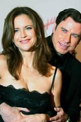 Kelly Preston sammen med ektemannen John Travolta