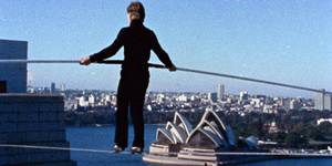 Philippe Petit i Man on Wire