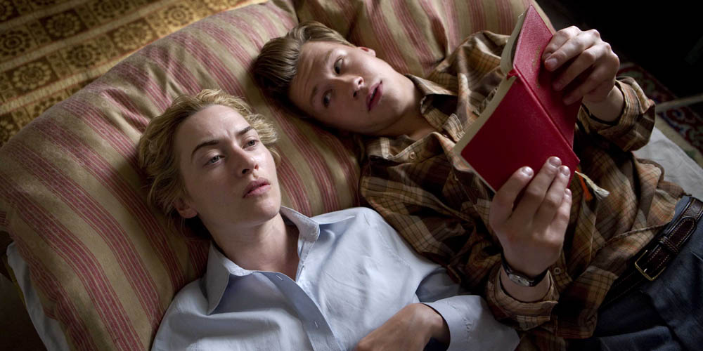 David Kross og Kate Winslet i The Reader