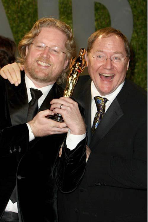 Andrew Stanton og John Lasseter