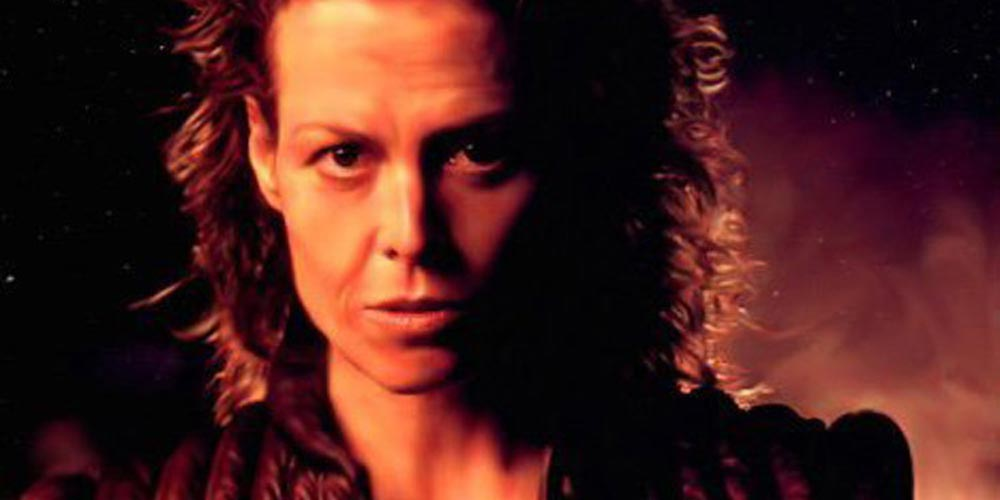 Sigourney Weaver i Alien: Resurrection