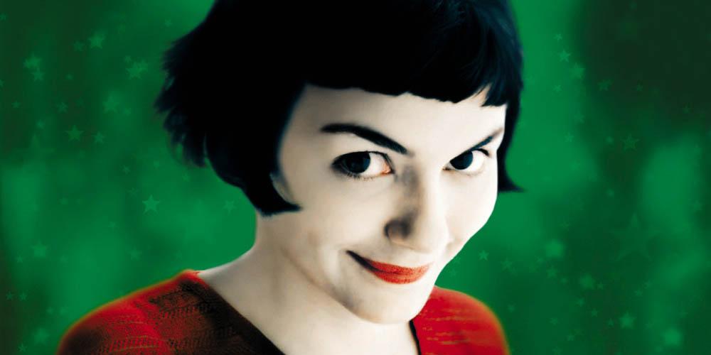 Audrey Tautou i Den fabelaktige Amelie fra Montmartre