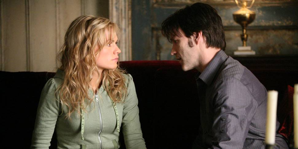 Anna Paquin og Stephen Moyer i True Blood