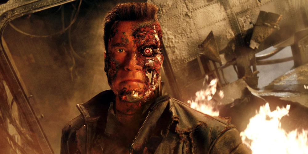 Arnold Schwarzenegger i Terminator 3: Rise of the Machines