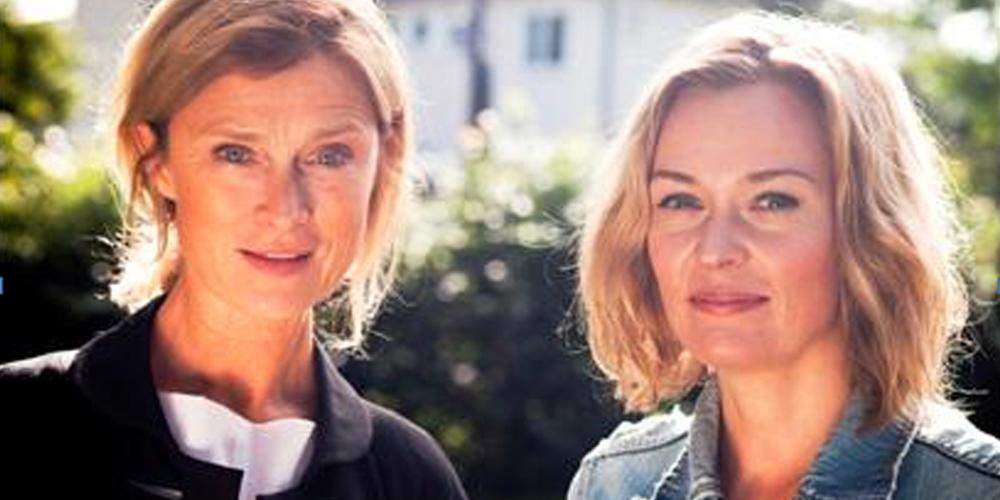 Lena Endre og Line Verndal