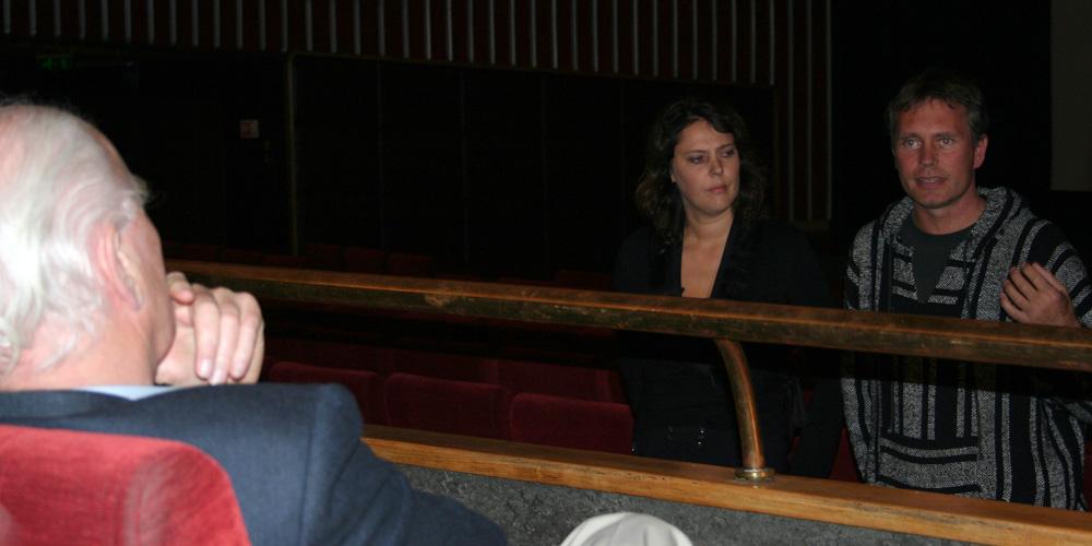 Engelen-regissør Margareth Olin og leder i Foreningen for human narkotikapolitikk, Arild Knutsen
