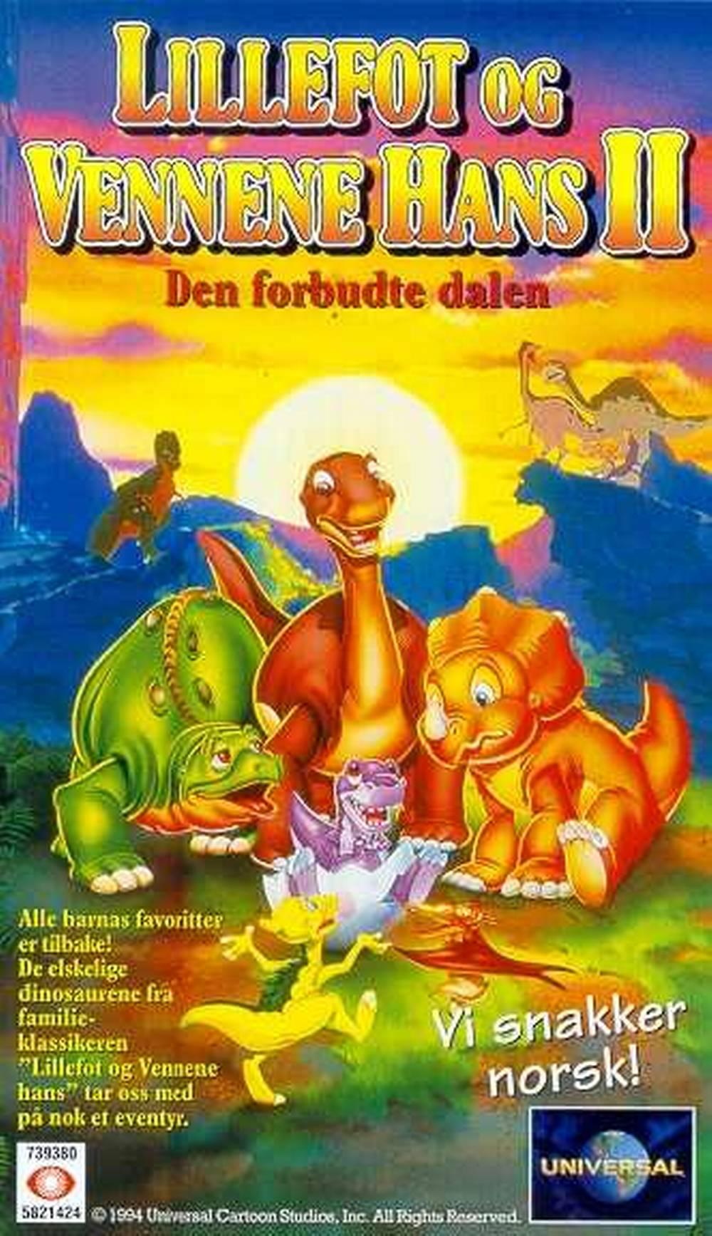 lillefot og vennene hans ii den forbudte dalen 1994 filmweb