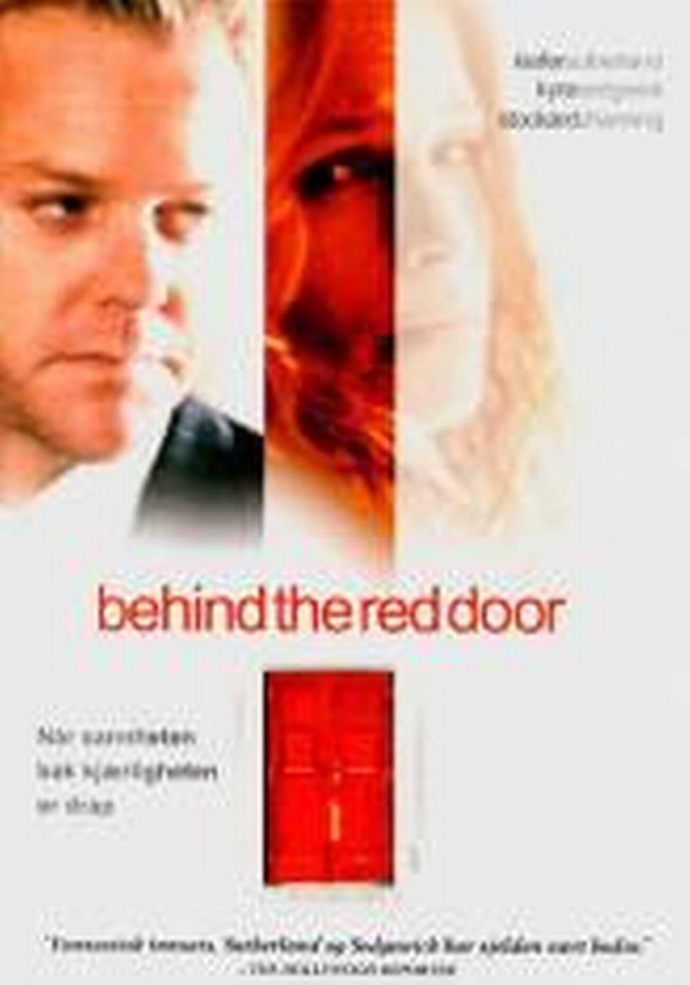 Behind The Red Door 2002 Filmweb