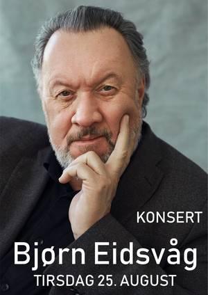 Plakatbilde Bjørn Eidsvåg konsert